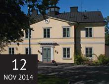Restaurering av franska tapeter på Carlhälls gård, Långholmen