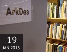 Visning ArkDes: dess samlingar och bibliotek