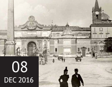 Turist på 1800-talet – fotografier ur Konsthögskolans historiska bildarkiv