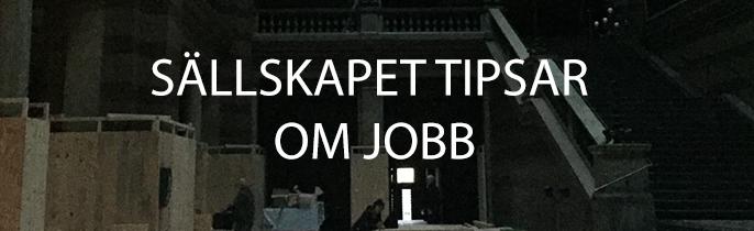 Tips om jobb – fastighetsavdelningen Skansen