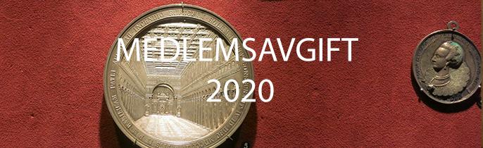 Inbetalning av årsavgift 2020