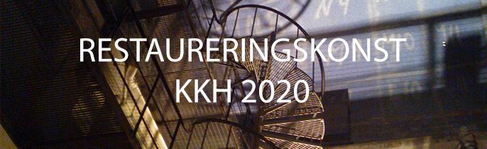 Restaureringskonst hösten 2020