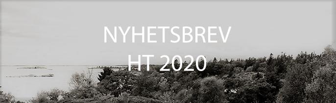 NYHETSBREV HT 2020